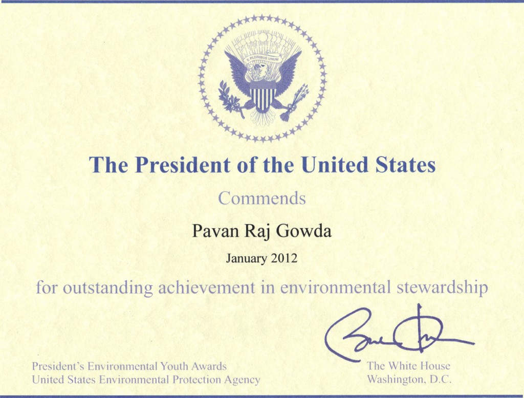 PresidentRecognition